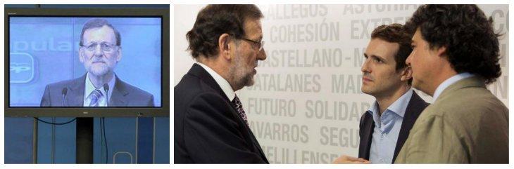 Mariano Rajoy pone punto final al plasma y decide dar un paso al frente en la comunicación