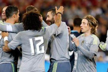 Primer triunfo del Real Madrid de Benítez que vence por 4-1 al City