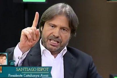 Ricardo Martín saca su vena más patriota para parar los pies a un separatista catalán