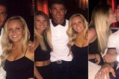 Cristiano Ronaldo encuentra un móvil perdido y se liga a una rubia que le hace 'tilín'