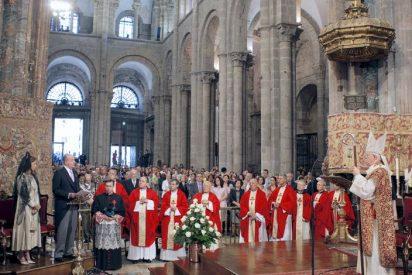 La Iglesia compostelana asume que el alcalde no acudirá a la Ofrenda al Apóstol