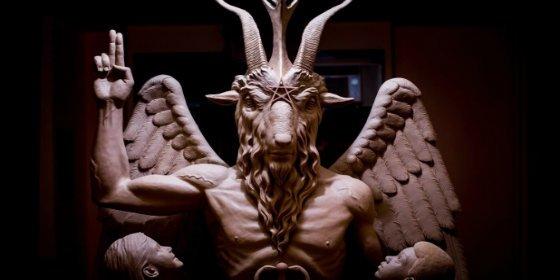 La secreta estatua de Satán que pocos adoran y con la que muchos se hacen cruces
