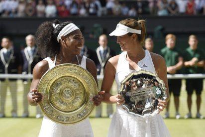 Garbiñe Muguruza sucumbe a la leyenda de Serena William en la final de Wimbledon