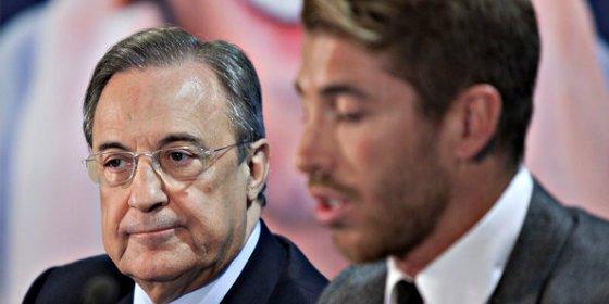 Florentino Pérez se pone duro y dispara el precio de Sergio Ramos ante la segunda tentativa del Manchester United
