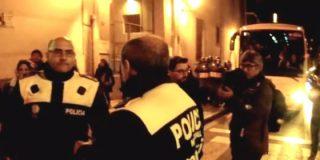 """Así apedreaban los podemitas al director de la Policía nombrado por Carmena: """"¡Parad, soy de los vuestros!"""""""