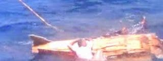 """El misterioso vídeo de los hombres asesinados a tiros en alta mar: """"¡Dispara, dispara!"""""""