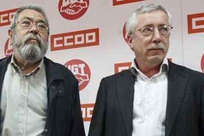 Los sindicatos CCOO y UGT han perdido durante la crisis el 44% de todos sus afiliados