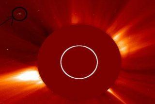 El OVNI de 216.000 kilómetros captado por la NASA cerca del Sol