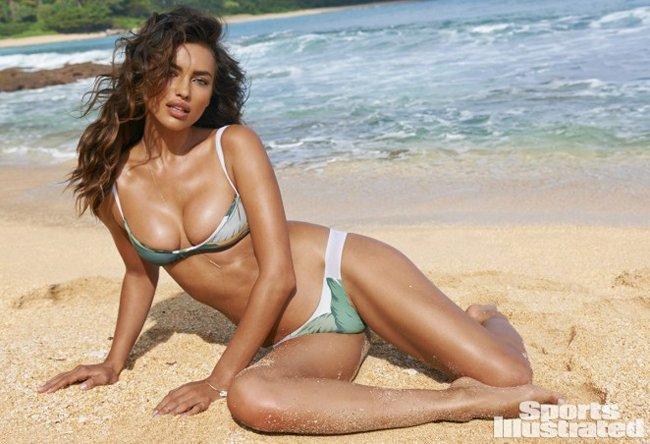 Irina Shayk posa desnuda... ¡a lo Cristina Pedroche!