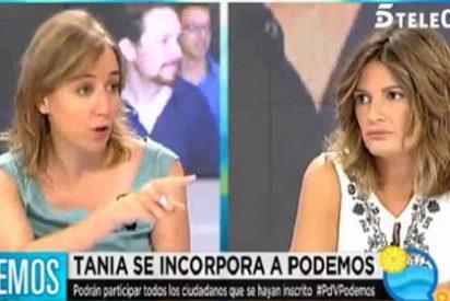 La podemita Tania Sánchez pasa de amenazar a una periodista con hablar de ella a querer impartir clases de periodismo