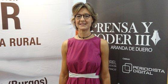 """Isabel García Tejerina: """"El diccionario es el único lugar en el que éxito viene antes que trabajo"""""""