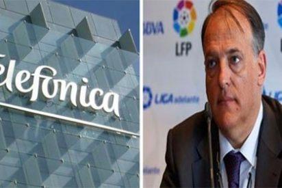 """Alfredo Relaño, sobre la 'guerra del fútbol': """"Telefónica pone en un aprieto a Javier Tebas"""""""