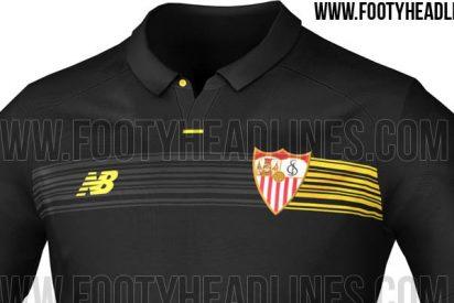 Filtran la tercera equipación del Sevilla