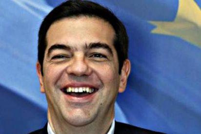 ¿De qué se rie Alexis Tsipras?