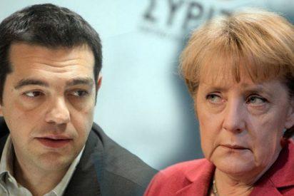 """Angela Merkel no se plantea una quita """"tradicional"""" a la deuda de Grecia"""