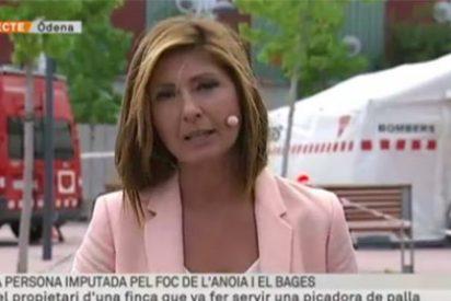 """Las cosas de TV3: """"el autor del incendio de Òdena es 'español'"""""""