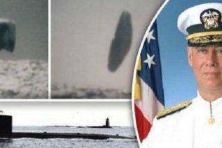 ¡'Top Secret'! Las fotos de los OVNIS gigantes tomadas por un submarino de EEUU en pleno Ártico