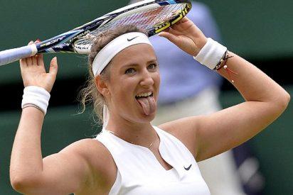 El tremendo corte que le pega la tenista Azarenka al periodista que pregunta sobre sus gritos en la pista