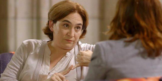 """Ada Colau acusa a Mariano Rajoy """"obstaculizar"""" el crecimiento y la creación de empleo en Barcelona"""