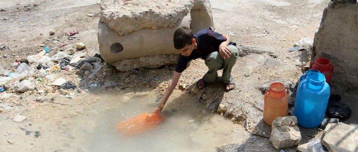 Agua para Alepo
