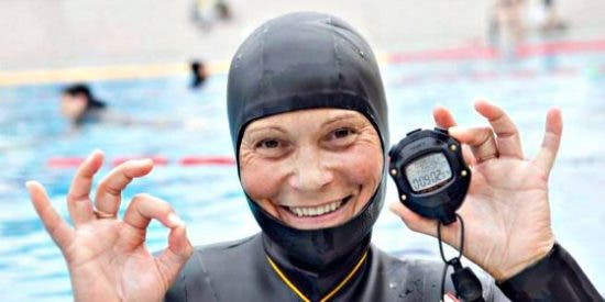 Desaparece Natalia Molchanova, reina mundial de la apnea