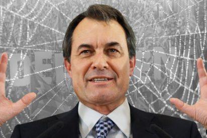 El independentista Artur Mas se ha gastado en tres años 60 millones en montar 'consultas' y 'elecciones'