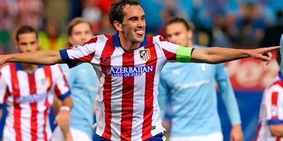 Las altas condiciones de Godín al Atlético