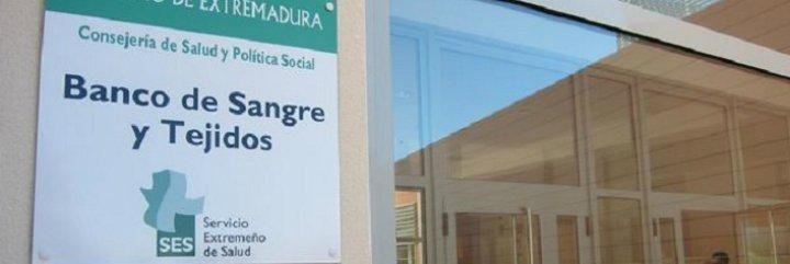 Los equipos del Banco de Sangre del Servicio Extremeño de Salud realizarán en septiembre 56 colectas