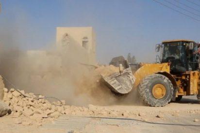 El Estado Islámico destruye el monasterio católico de Mar Elian del siglo V