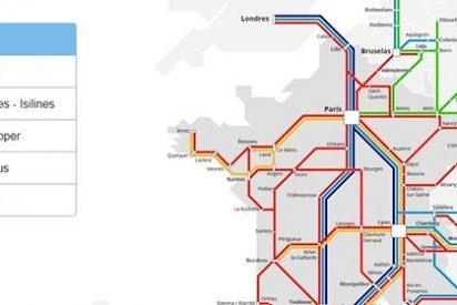 La liberación del autobús en Francia