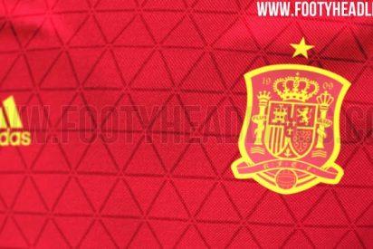 Filtran la primera equipación de España para la Eurocopa