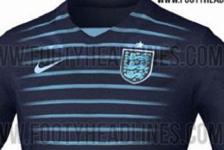 Filtran la camiseta de Inglaterra