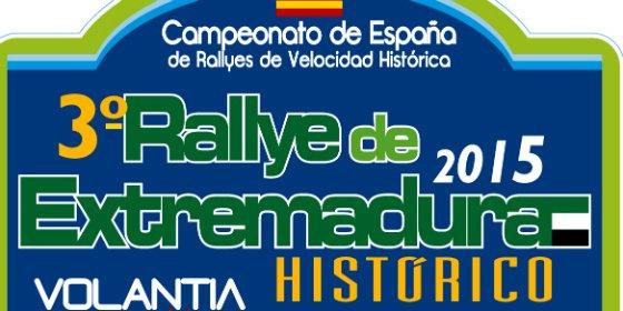El III Rallye de Extremadura Histórico abre la competición en septiembre