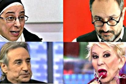 """Monjas, actores y faranduleras venden una Cataluña """"moderna y progresista"""" frente a una España """"franquista"""""""