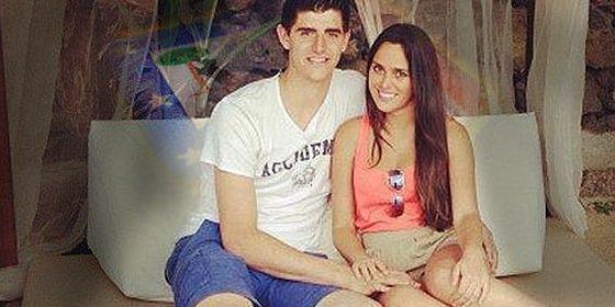 ¿Ha sido infiel Courtois con este pibón a su novia española?