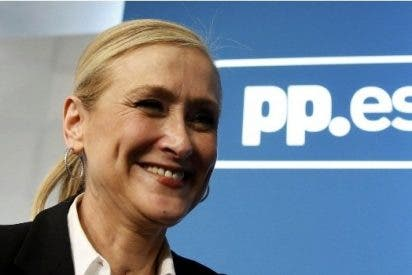 Todo el patrimonio de Cristina Cifuentes, presidenta de la Comunidad de Madrid, son 26.000 euros