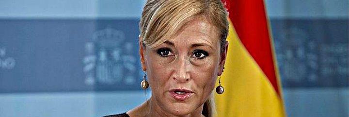 """Cristina Cifuentes: """"Quiero que Telemadrid salga adelante pero no descarto cerrarla"""""""