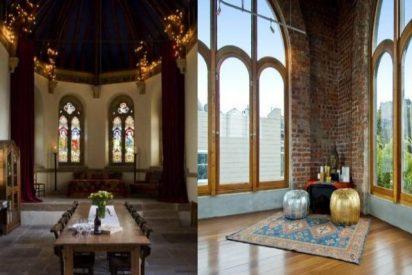 Vivir como Dios: Iglesias convertidas en mansiones