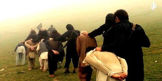 [Vídeo sin censura] La nueva forma de matar del EI: ¡volar infieles con minas!