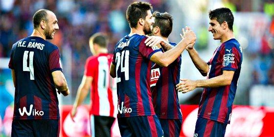 El Eibar le sacude la pana al Athletic de Bilbao
