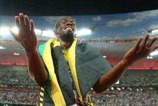 Sigue siendo el rey: Usain Bolt, campeón del mundo de 100 metros en Pekín