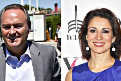 La televisiva Silvia Jato y el político Alberto Fabra, la sorprendente pareja