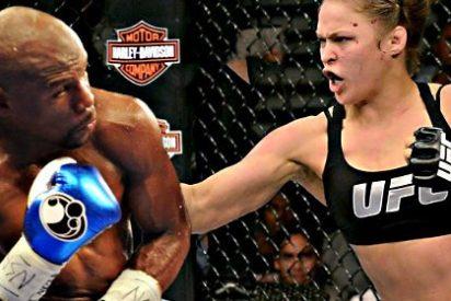 """Ronda Rousey: """"En una pelea sin reglas, le ganó a Floyd Mayweather Jr"""""""
