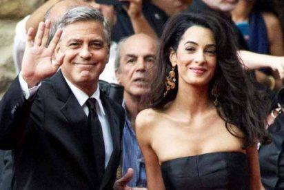 George Clooney y Amal Alamuddin, pareja de guapos en Ibiza