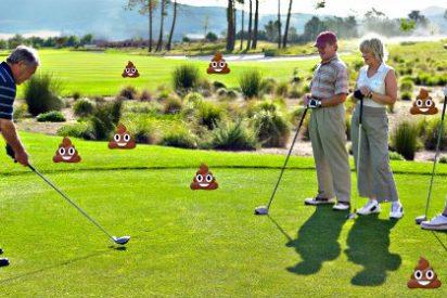 El misterioso 'cagón' en serie que aterroriza a los golfistas y siembra de caca los campos de golf