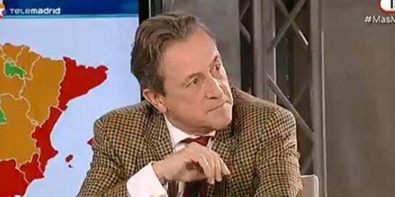 """Hermann Tertsch: """"Los trabajadores de IU o UGT van a la calle sin los honores y ofertas de los del ERE de Coca Cola. Pero chitón que la mafia es muy mala"""""""