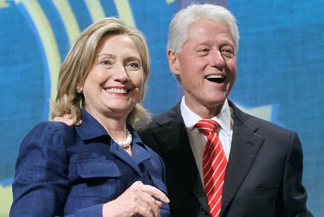 Hillary y Bill Clinton son como el Rey Midas: han ganado 128 millones en los últimos ocho años