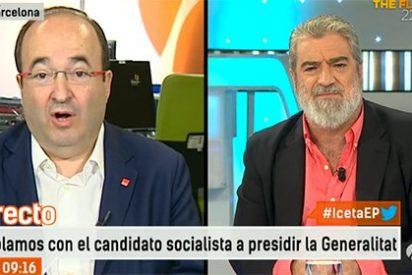 """MAR le escupe a la cara de Iceta las verdades del barquero: """"Ustedes, con ERC, prohibieron hablar español en Cataluña"""""""