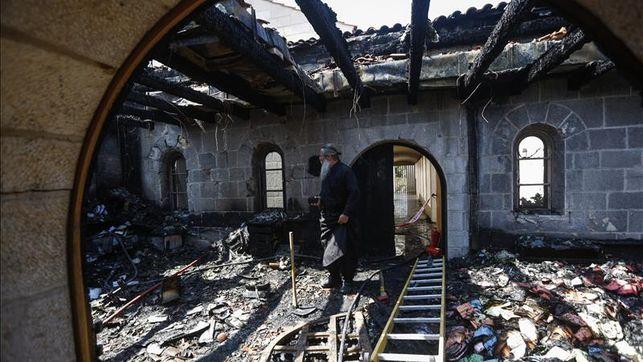 Católicos de Tierra Santa exigen a Israel que procese a un extremista judío que instó a quemar iglesias