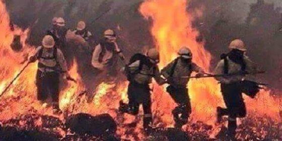 El incendio de Gata obliga a evacuar la localidad de Hoyos (Cáceres)
